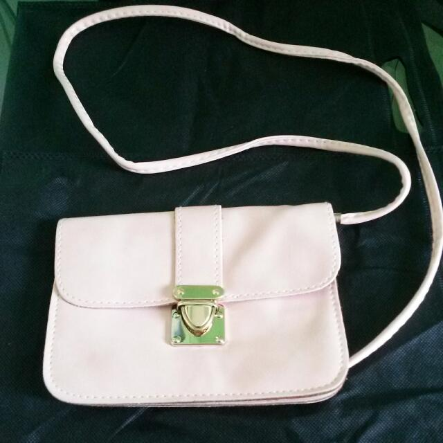 Small Bag With Sling Peach