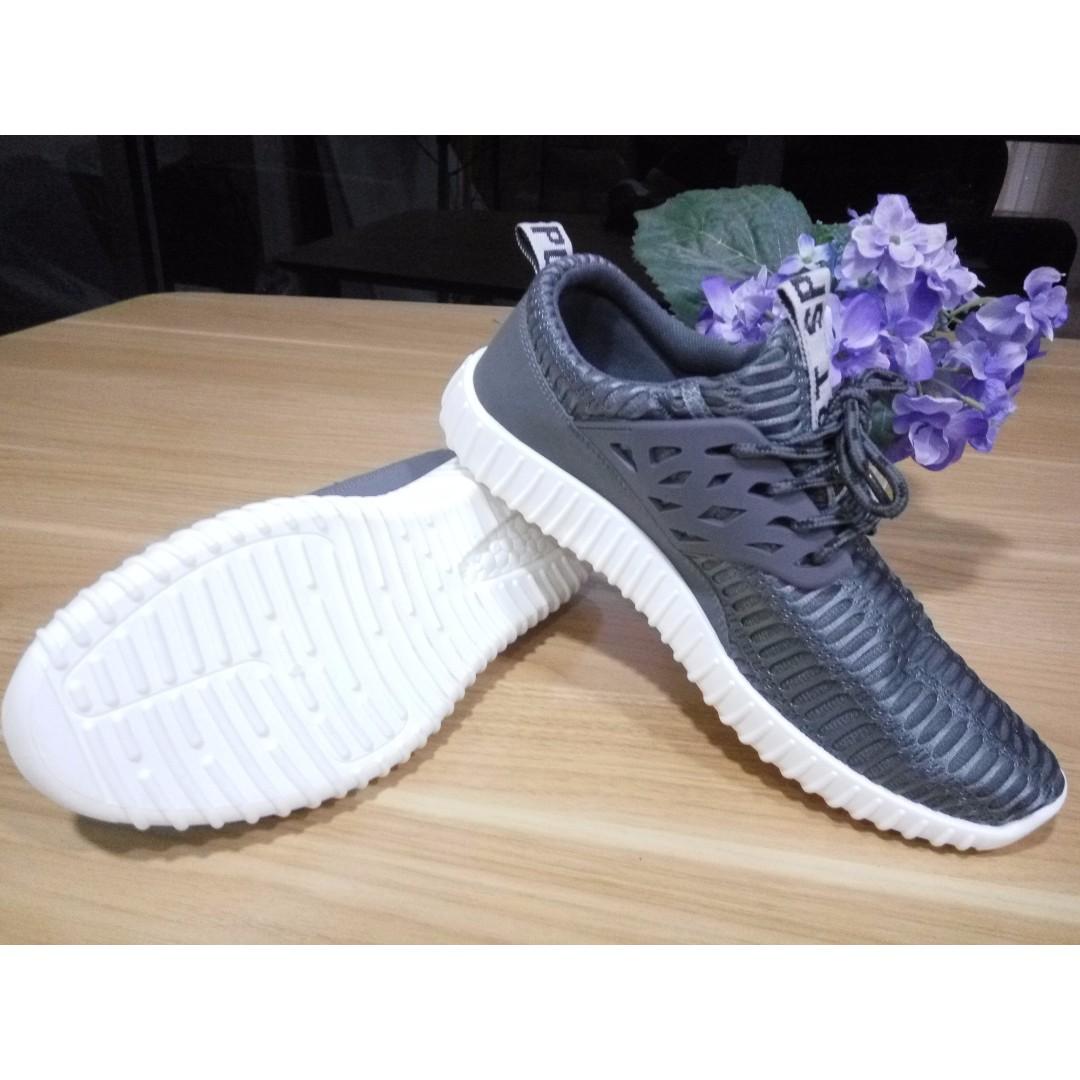 Sneakers Pria Import Korea - Grey