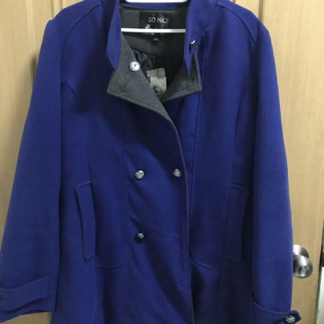 SO NICE 藍色外套