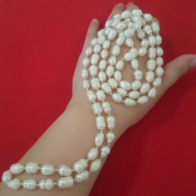 STRAND of Pearls Freshwater Cultured Pearl Jewelry Necklace Accessory