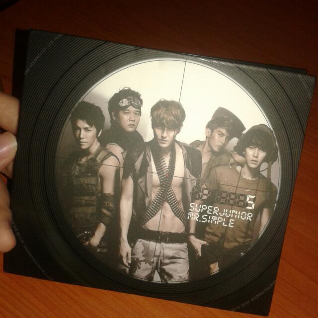 Super Junior Mr Simple Album