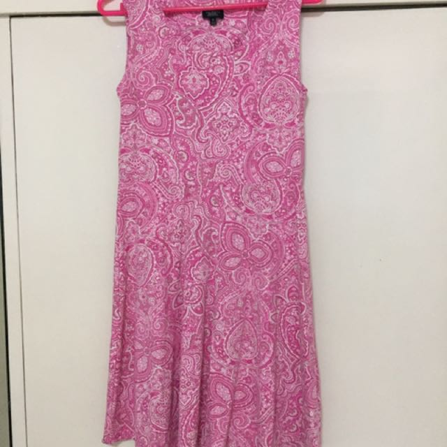 Talbots Paisley Dress