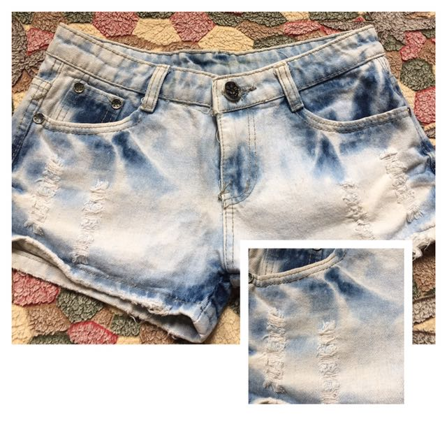 Tattered Shorts