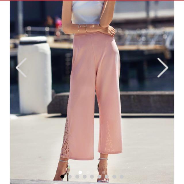 Tcl Jillian Lace Insert Pants (Light Pink)