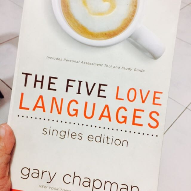 The 5 Language Of Love by Gary Chapman (Singles edition)