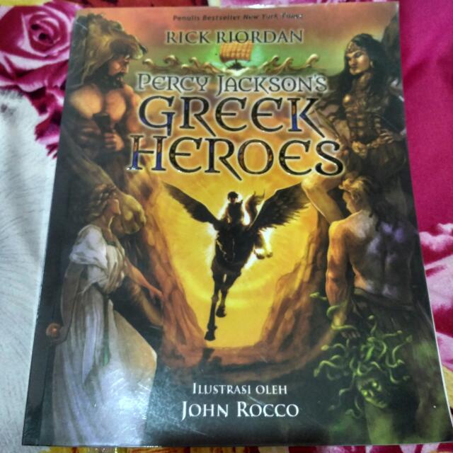 The Greek Heroes Rick Riordan