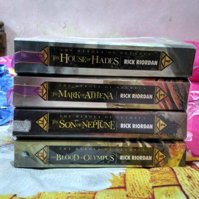 Available The Heroes Of Olympus Rick Riordan