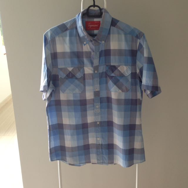 Top Man Shirt Blue