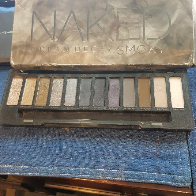 Urban Decay Smoky Palette -authentic