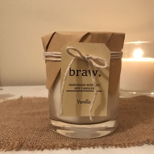 Vanilla Handmade Soy Scented Candle
