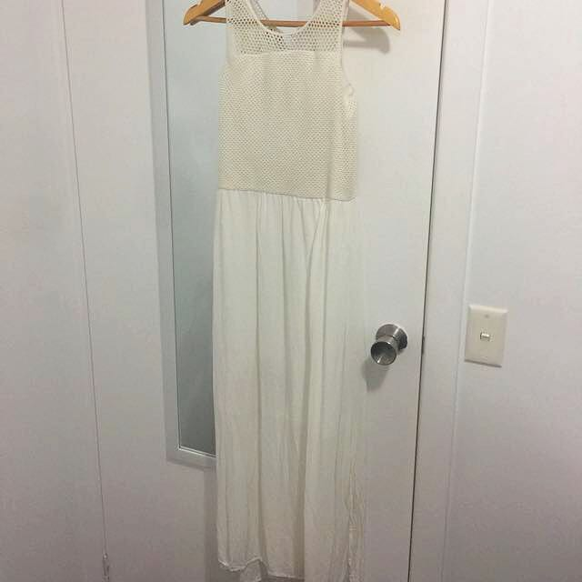 White Witchery Maxi Dress