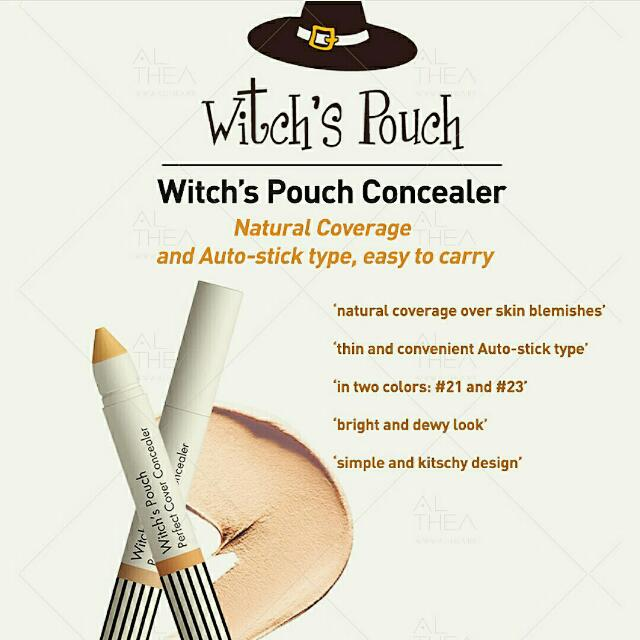 Witch's Pouch Perfect Cover Concealer (#23 - Natural Beige)