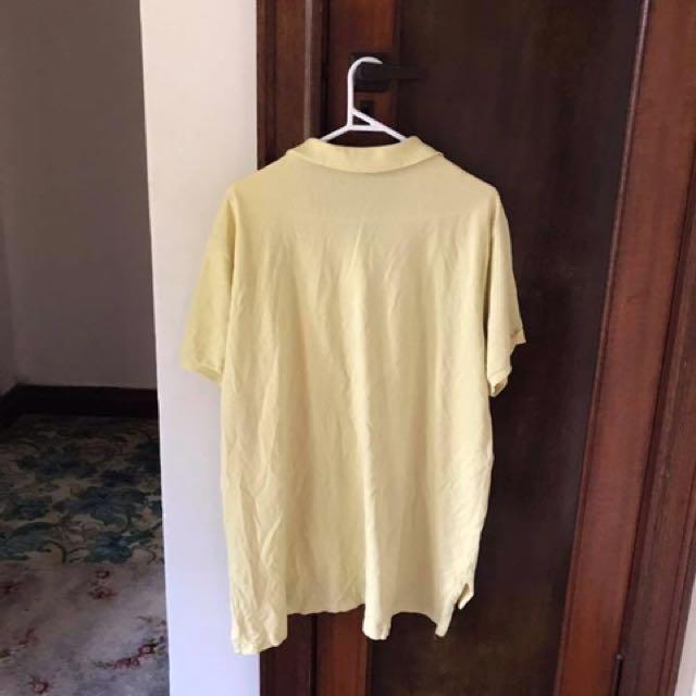 Yellow Polo Shirt.