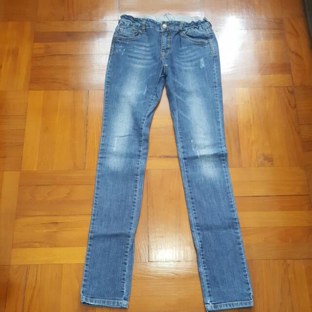 Zara Kids Denim Skinny Jeans