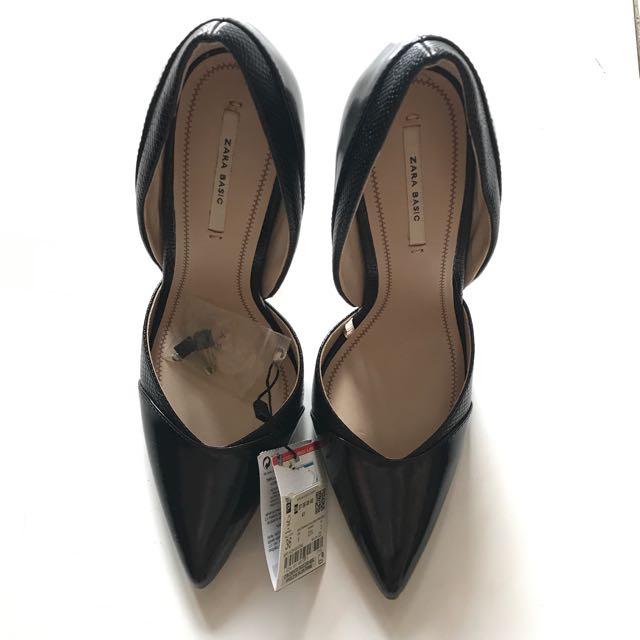 Zara shoes Brand New Black