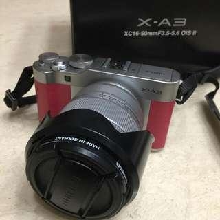富士 FUJI X-A3 數位相機 KIT公司貨 (粉紅)