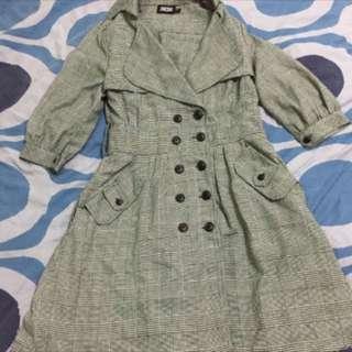 JOJO格子洋裝