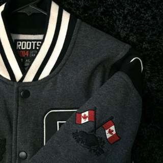 Authentic ROOTS Varsity Jacket (2014 Winter Olympic Edition)