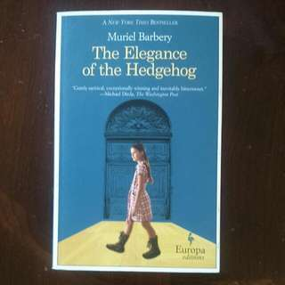 *REDUCED* Muriel Barbery - The Elegance of the Hedgehog