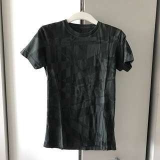 Diesel All Over Print Tee In Small