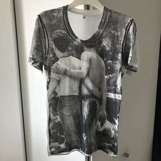 American Apparel Gay Pride Graphic Tee Size XS/S