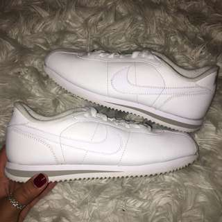 Nike Cortez White Leather