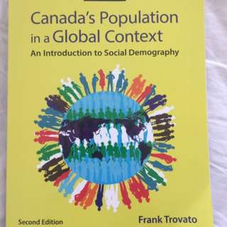 Canadas Population In A Global Context