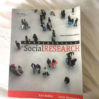 Fundamentals Of Social Research