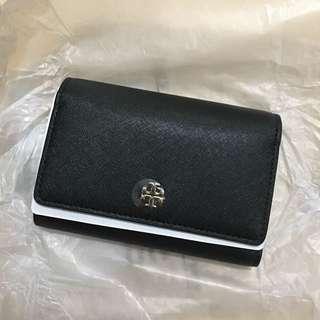 全新連單tory burch medium flap wallet