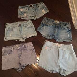 $5 shorts