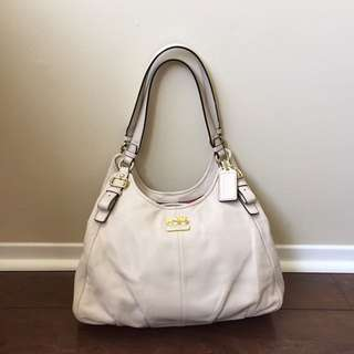 Leather Coach Maddison Handbag