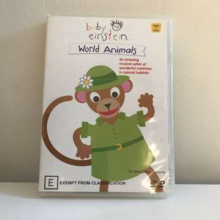 Baby Einstein World Of Animals DVD