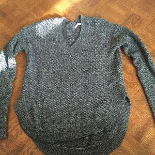 Dark Grey Mix Sweater By Dex From The Bay