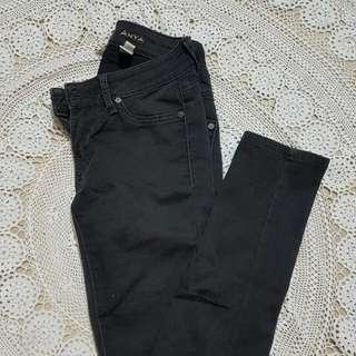 Mango Skinny Jeans (faded black)