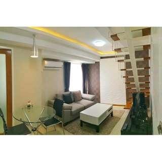 For Sale Fully Furnished 2 Bedroom Bi Level Condo at Fort Victoria Bonifacio Global City BGC
