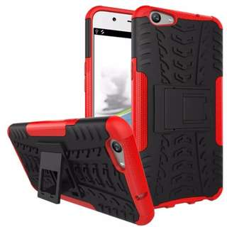 Case Rugged All Type Soft+Hard Back Stand Dual Armor Cover Slim