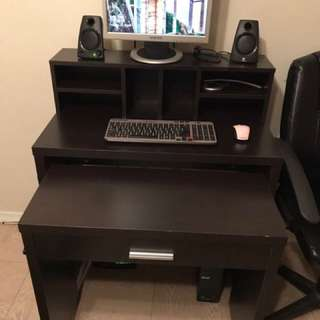 Computer Desk And Tv Desk With Tv