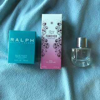 Authentic Perfumes Ralph Lauren Calvin Klein Victoria secret