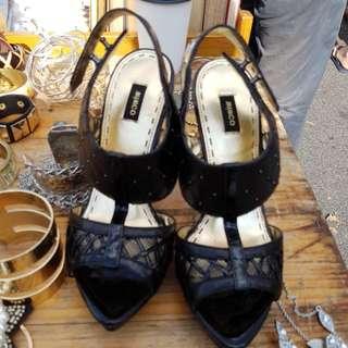 Mimco Black Shoes