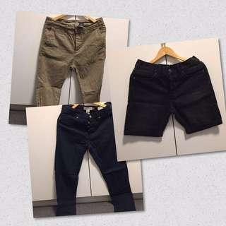 H&M Mens Shorts and Chinos