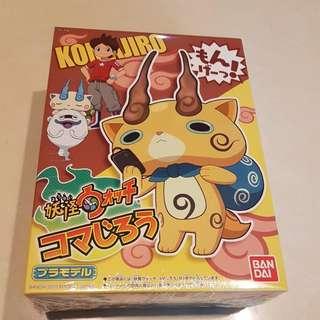 Hospitable Yo-kai Watch Komajirou Model Kit Bandai Youkai Watch Anime