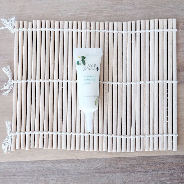 🆕100% PURE Aqua Boost Hydrating Mask [Travel Size]