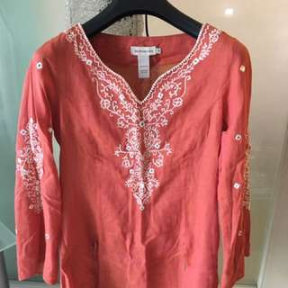 Blouse By British India