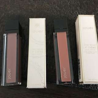 Jouer Long-Wear Lip Creme Rayanne & Terra