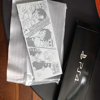 One Piece Limited Edition Ps4 Hdd Cover