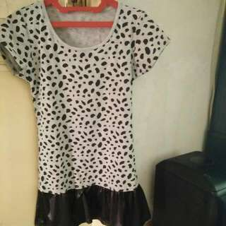 Mini Dress Tutul