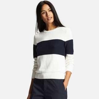 Uniqlo Cotton Cashmere Line Sweater