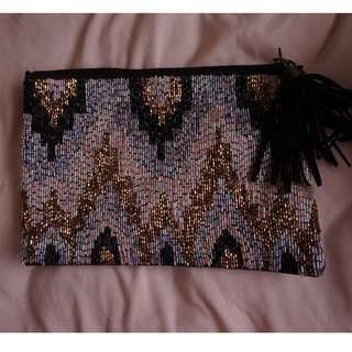Ecote sequin clutch from UO