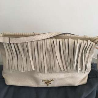 Prada Handbag Cow Leather