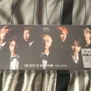 BEST OF BTS KOREAN LIMITED EDITION QYOP